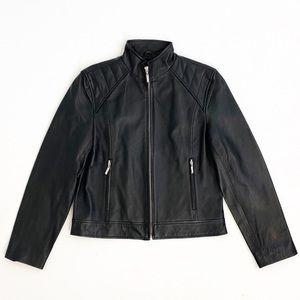 🛍Austin Clothing Co. Moto Leather Jacket Size L